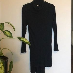 Anthropologie Long Black Tunic